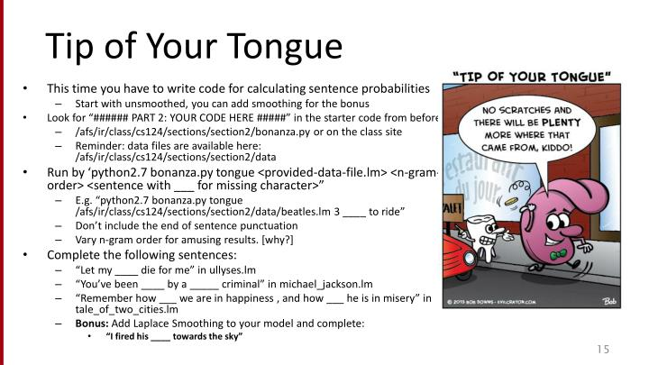 Tip of Your Tongue