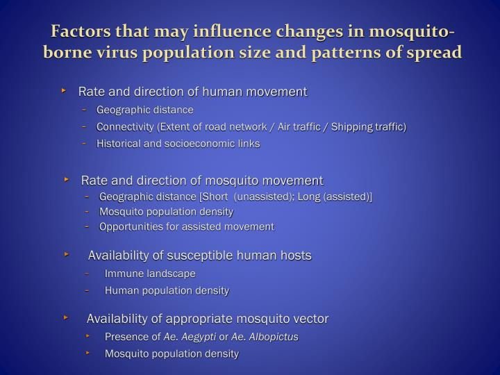 Factors that