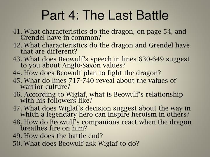 Part 4: The Last Battle