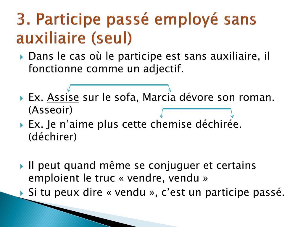 Ppt Reconnaitre Un Participe Passe Powerpoint Presentation Free Download Id 2360900