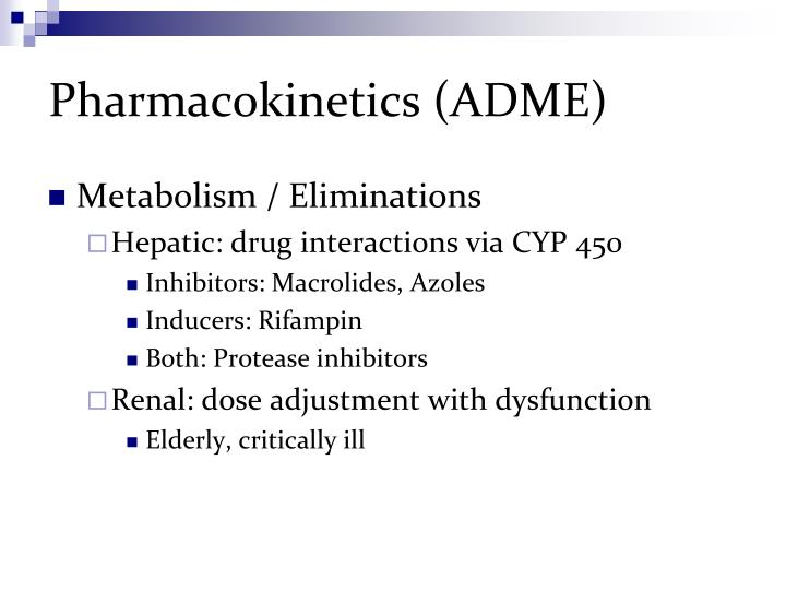 Pharmacokinetics (ADME)