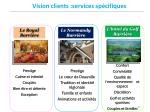 vision clients services sp cifiques