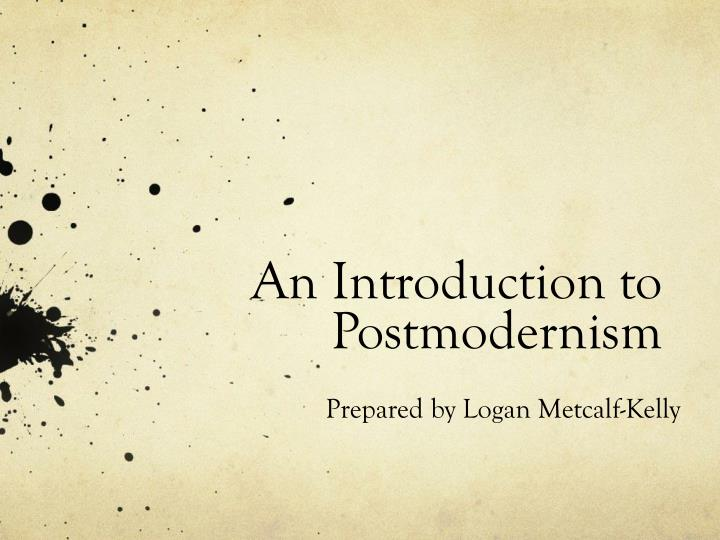 an introduction to postmodernism n.