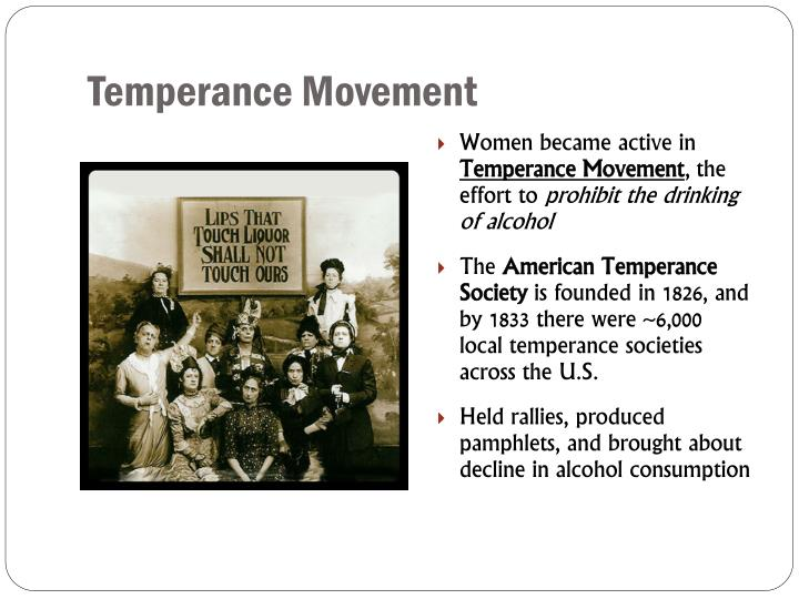 Temperance Movement