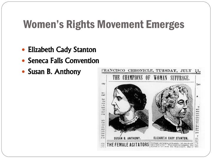 Women's Rights Movement Emerges