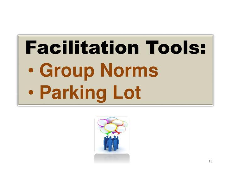 Facilitation Tools: