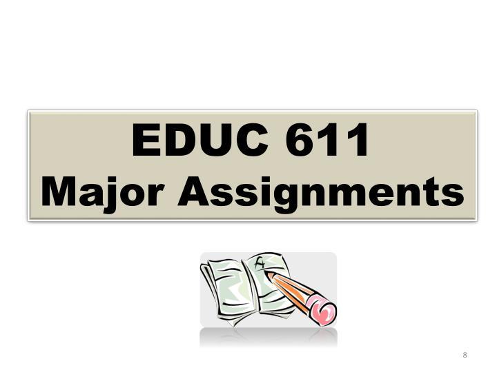 EDUC 611