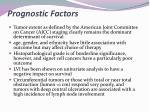 prognostic factors2