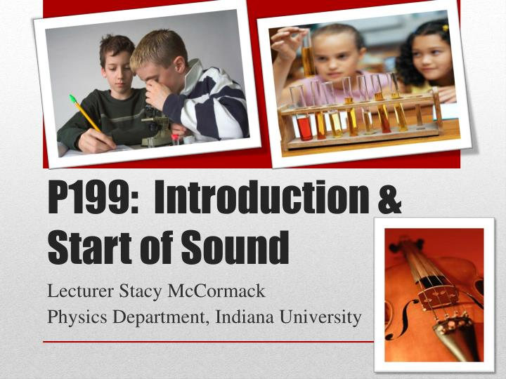 p199 introduction start of sound n.