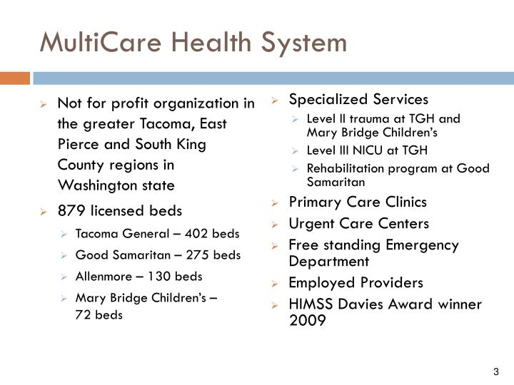 Multicare health system1