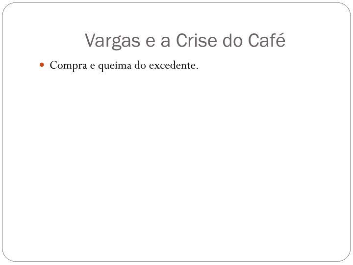 Vargas e a Crise do Café