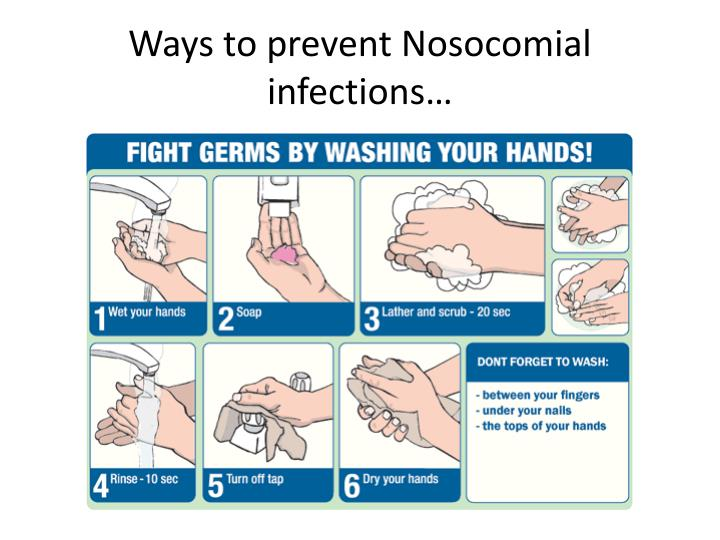 Ways to prevent Nosocomial infections…