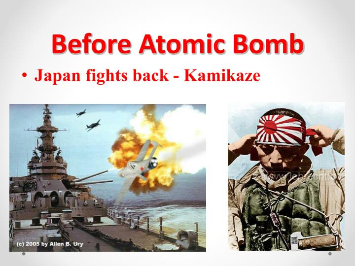 Before Atomic Bomb