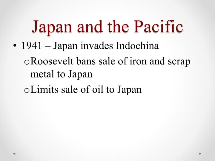 Japan and the Pacific