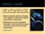 fatiha 2 hamd4