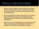 fatiha 2 lemlerin rabbi12