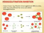 hemagglutination inhibition
