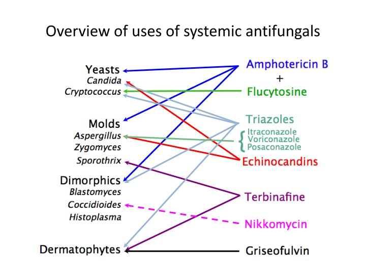 Overview of uses of systemic