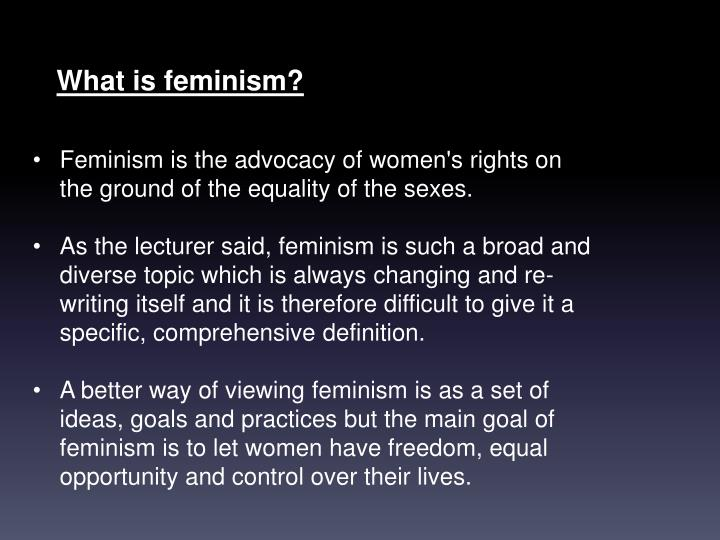 feminist approaches The feminist approach is a sociological analysis which over the past three decades has focused on two important and previously largely ignored aspects of sexual assault.