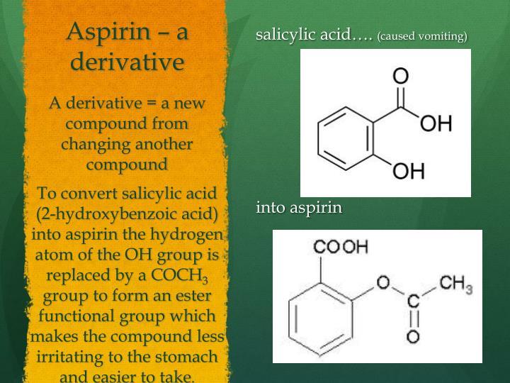 Aspirin – a derivative