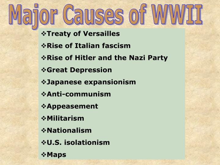 an analysis of the treaties and agreements that could have prevented world war ii - world war i, known as the great war prior to world war ii, was a global war which began in europe on july 1914 and ended on november 11, 1918 the central power, germany, austria-hungary, and italy, were at war with the allies, great britain, france, and russia.