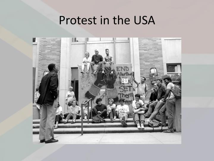 Protest in the USA