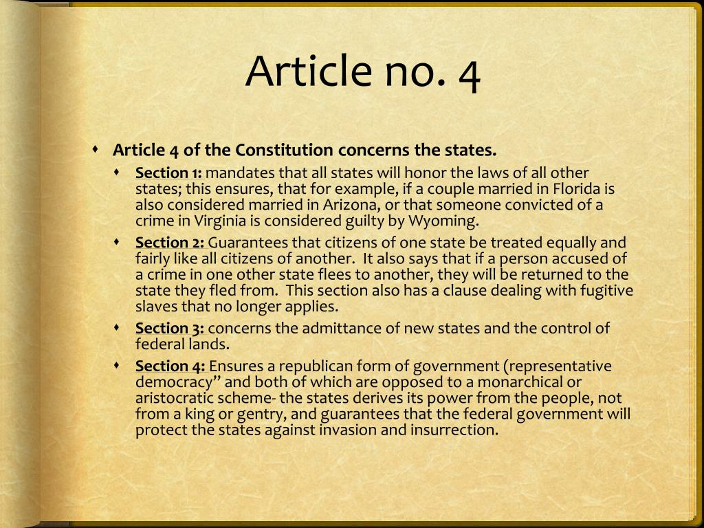 PPT - Article 4 PowerPoint Presentation, free download ...