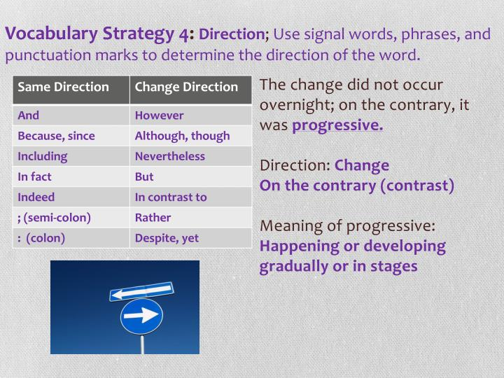 signal words meaning