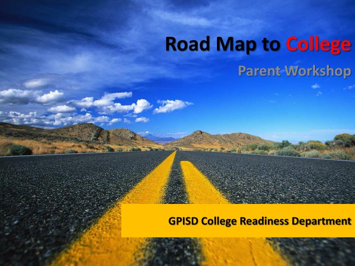 road map to college n.