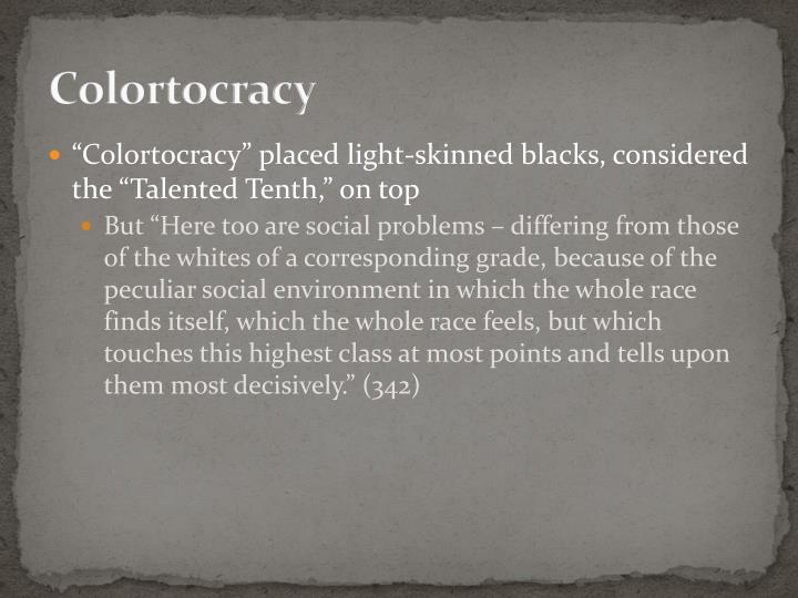 Colortocracy