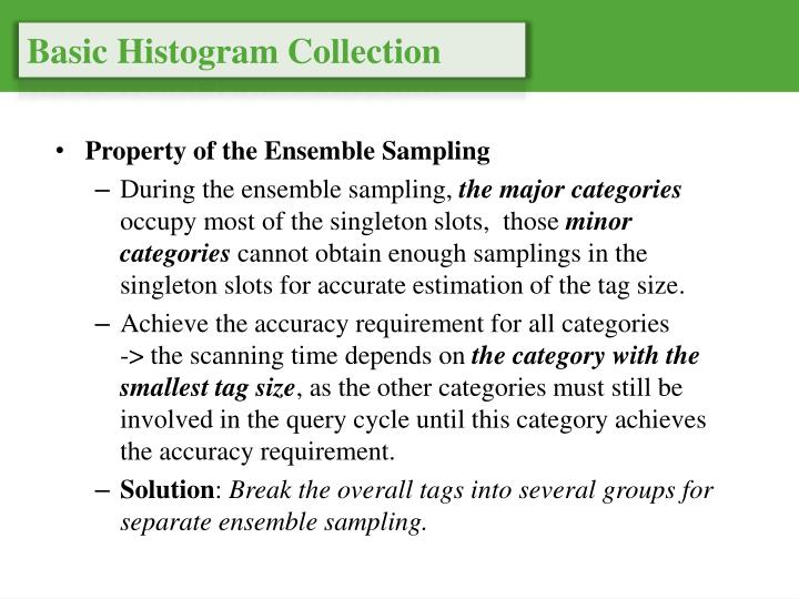 Basic Histogram Collection