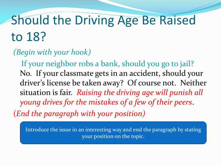 Should the Driving Age Be Raised to 18?