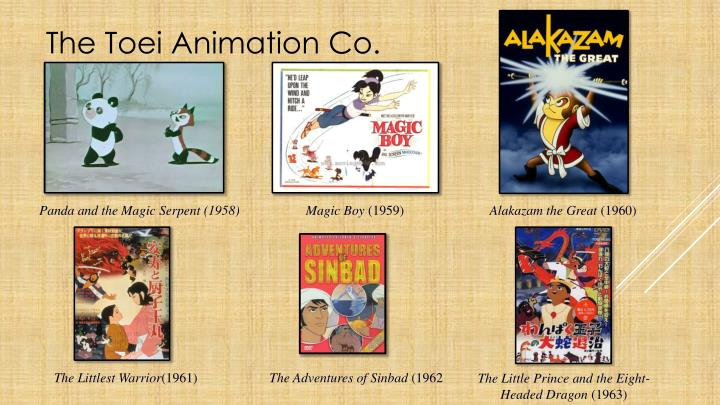 The Toei Animation Co.