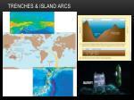 trenches island arcs