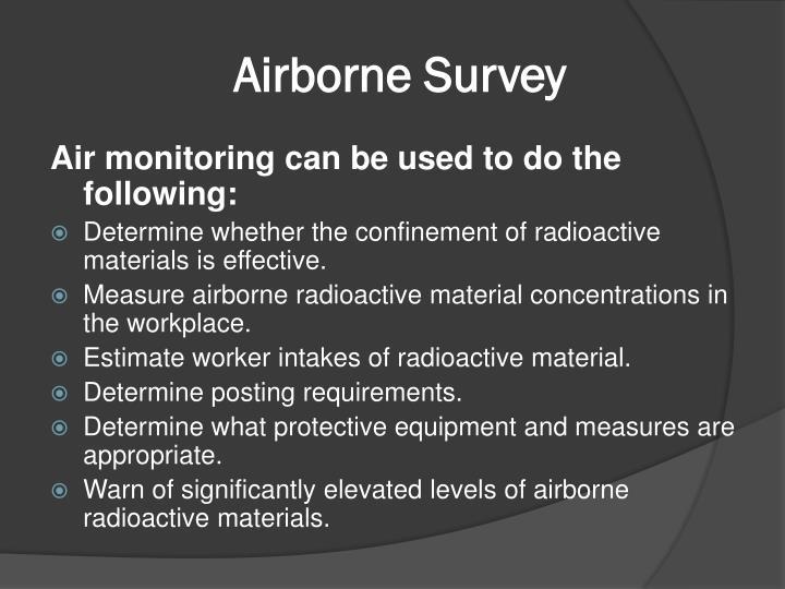 Airborne Survey