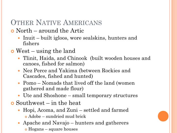 Other native americans