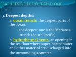 features of the ocean floor cont2
