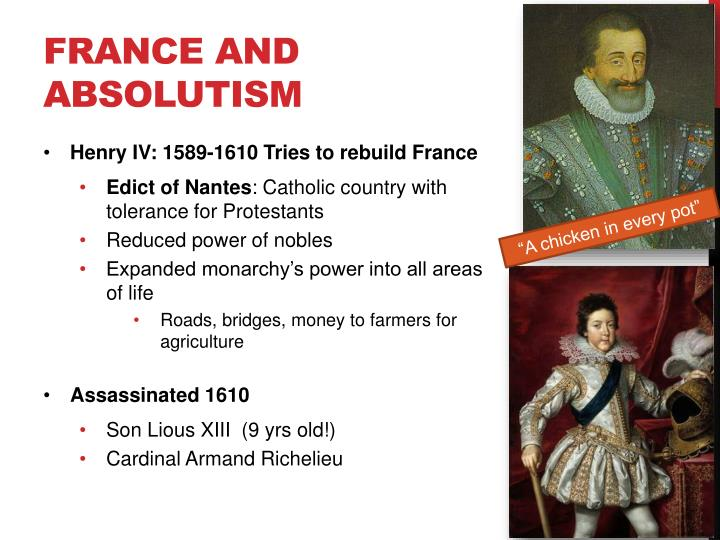 France and Absolutism