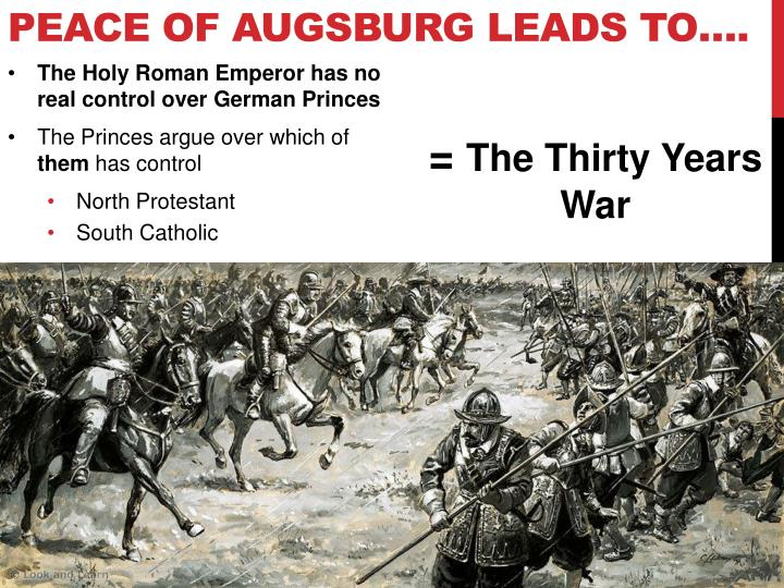Peace of Augsburg leads to….