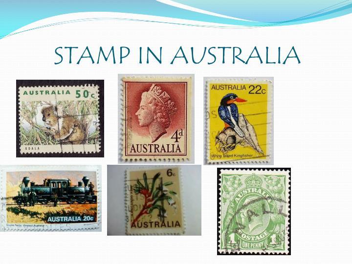 STAMP IN AUSTRALIA