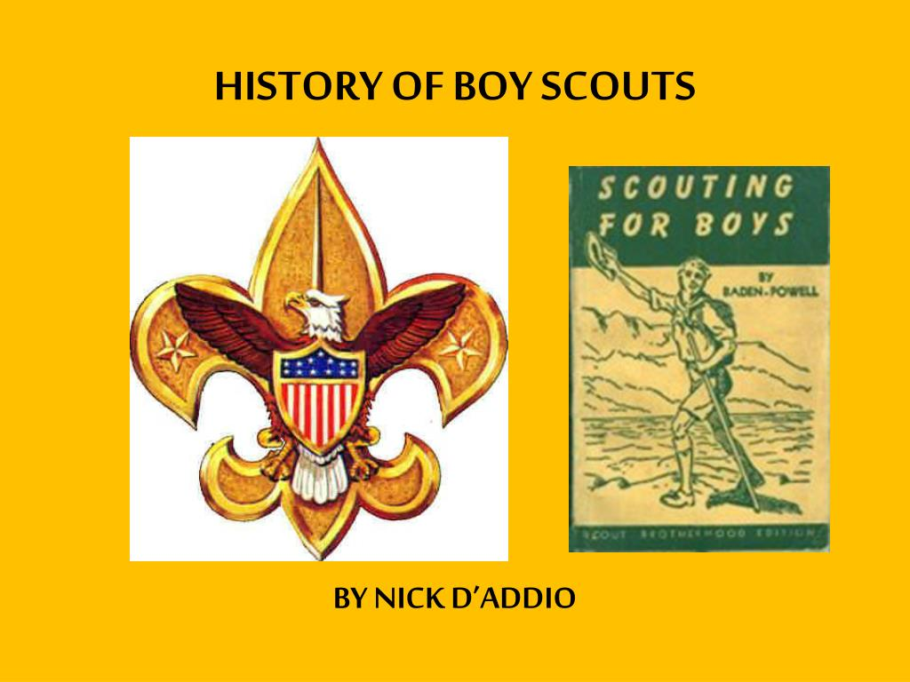 PPT - HISTORY OF BOY SCOUTS PowerPoint Presentation - ID:2366705