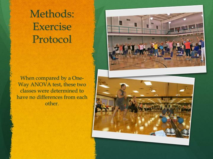 Methods: Exercise Protocol