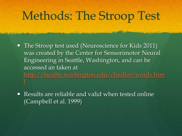 Methods: The