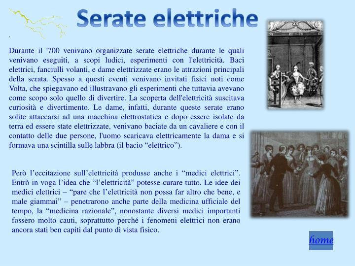 Serate elettriche
