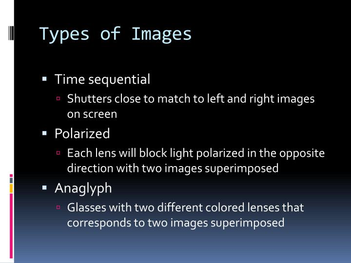 Types of Images
