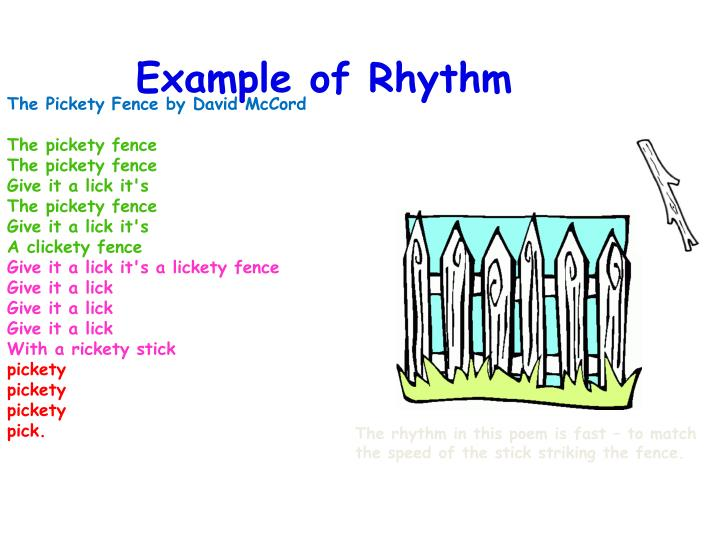 Example Of Rhythm Images Example Cover Letter For Resume