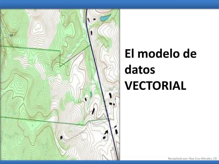 El modelo de datos  VECTORIAL