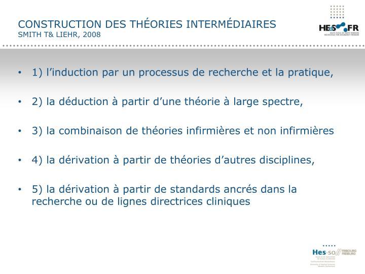 Construction des théories intermédiaires