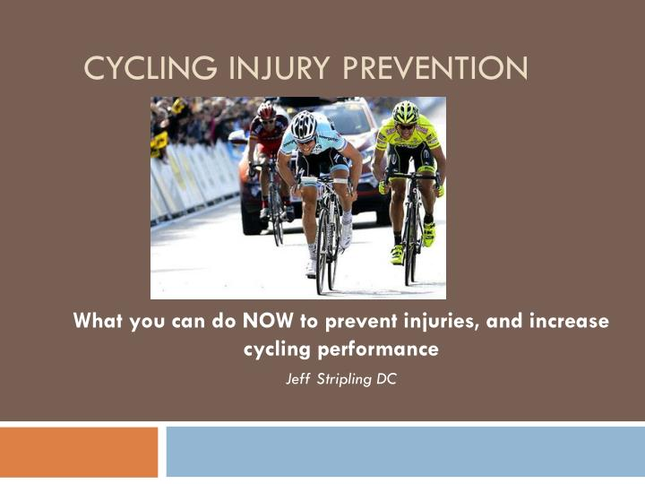 cycling injury prevention n.