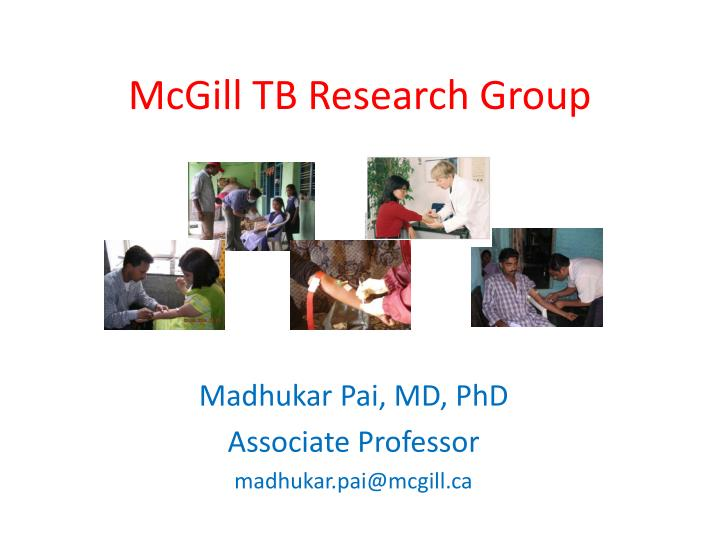mcgill tb research group n.